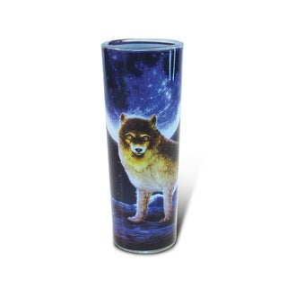 Puzzled Full Shooter Wolf Shot Glass
