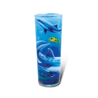 Puzzled Full Shooter Dolphin Shot Glass
