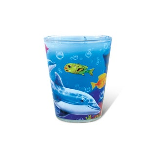 Puzzled Full Dolphin Shot Glass