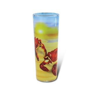 Puzzled Full Shooter Crab Shot Glass