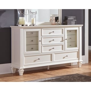 Sandy Beach White Dresser