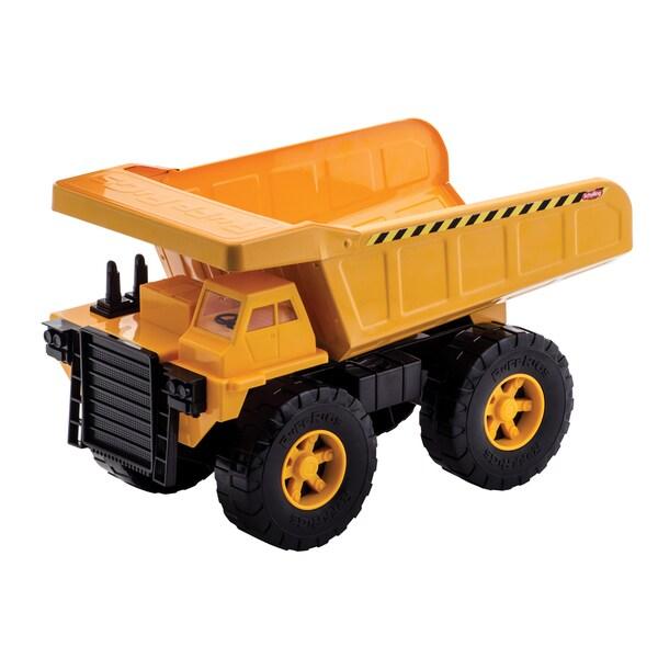 Schylling Orange Plastic Dump Truck Ruff Rig