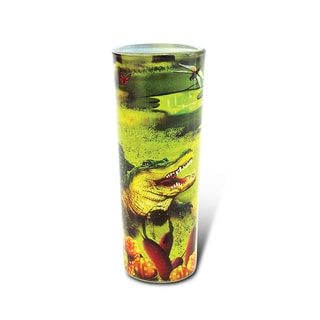 Puzzled Full Shooter Alligator Shot Glass