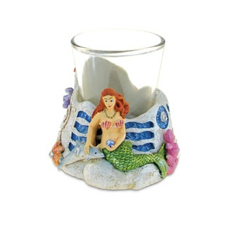 Puzzled Stone Mermaid Shot Glass
