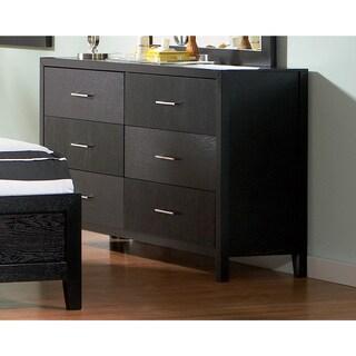 Coaster Grove Black 6-drawer Dresser