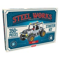 Schylling Steel Works Metal 4x4 Vehicle Construction Set