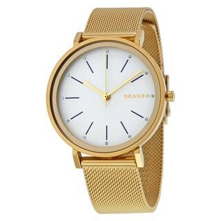 Skagen Women's SKW2509 'Hald' Gold-Tone Stainless Steel Watch