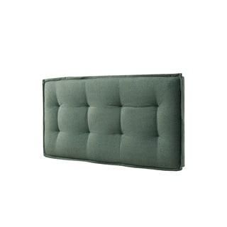 LYKE Home Twin-size Wall Mount Faded Upholstered Panel Headboard