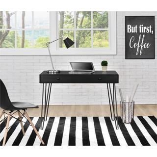 Altra Owen Black Retro Student Desk