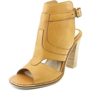 Two Lips Women's Caley Tan Leather Sandals