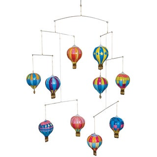 Schylling Tin Hot Air Balloon Mobile