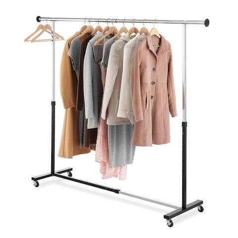 Expandable Garment Rack (Chrome)