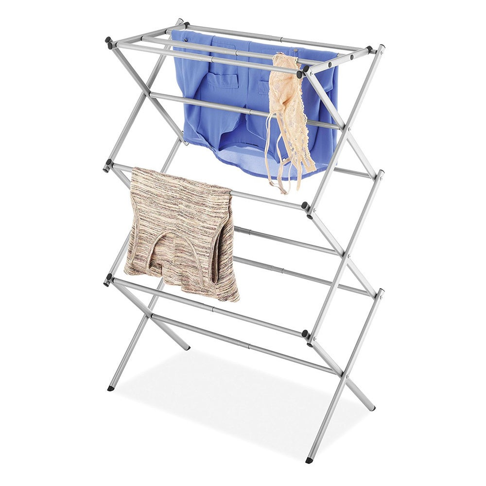 Whitmor 6779-6987 Chrome Expandable Drying Rack