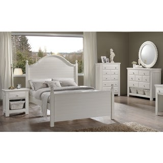 Greyson Living Jenna White Bedroom Set