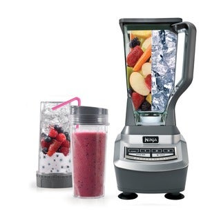 Ninja BL740 Blender with Single Serve Cup (Refurbished)