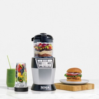 Nutri Ninja NN101 Nutri Bowl DUO with Auto IQ Chopper
