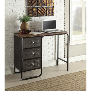 locker collection industrial style 3drawer desk