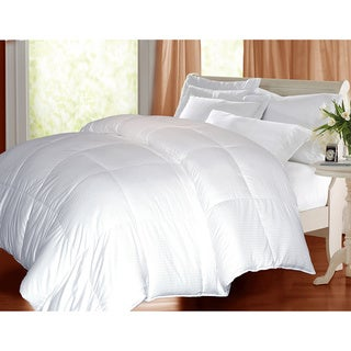 Hotel Grand Oversized 600 Thread Count Extra Warmth White Goose Down Comforter