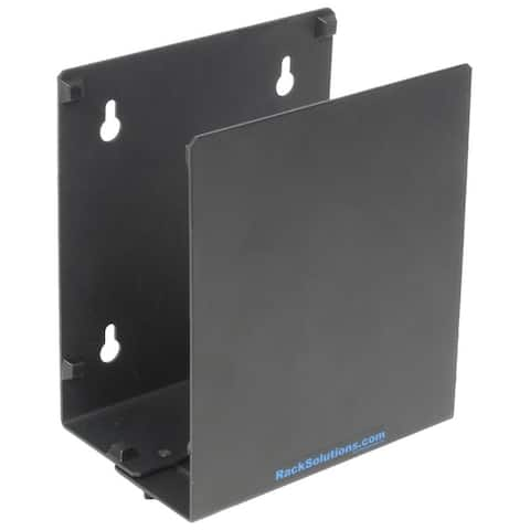 Rack Solutions 104-2109 Wall Mount for CPU - Black