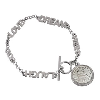 American Coin Treasures Seated Liberty Silver Dime Inspirational Coin Bracelet