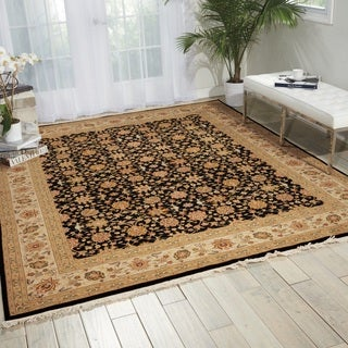 Nourison Royalty Black Area Rug (7'9 x 9'9)
