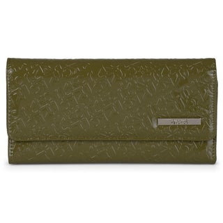 Kenneth Cole Reaction Women's Embossed Trifold Clutch Wallet