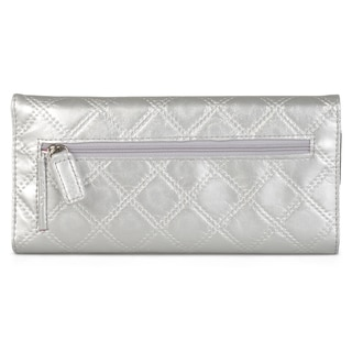 Kenneth Cole Reaction Women's Quilted Elongated Clutch Wallet