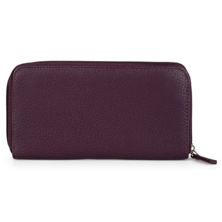 Kenneth Cole Reaction Women's Pebble Print Zippered Clutch Wallet