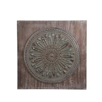 Privilege Wood and Metal Wall Decor