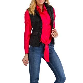 Jackett New York Women's Jodie Black Distressed Leather Vest|https://ak1.ostkcdn.com/images/products/12507980/P19315151.jpg?_ostk_perf_=percv&impolicy=medium