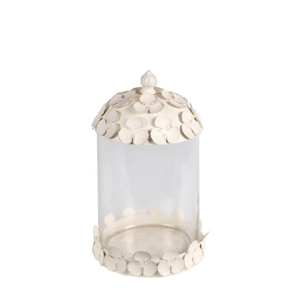 Privilege International White Medium Jar