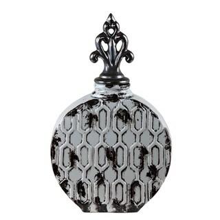 Privilege International Grey Ceramic Vintage Vase
