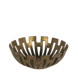 Privilege International Gold Small Decorative Bowl