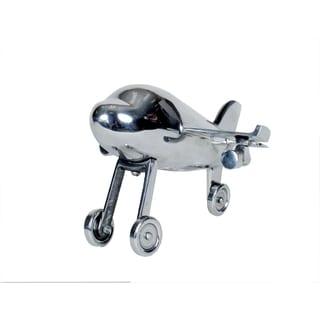 Privilege Aluminum 10-inch Airplane Figurine