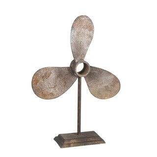 Privilege Metal Rust Propeller Decoration