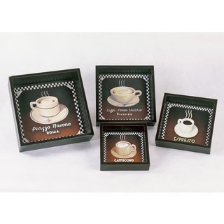 Privilege 4-piece Assorted Coffee Pictures