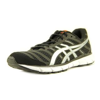 Asics Men's Gel Zaraca 2 Black and White Mesh Athletic Shoes