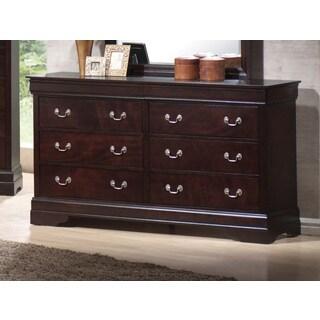 Coaster Company Louis Philippe Brown Veneer Dresser