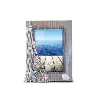 Nautical Decor - Brown Frame 4inchX6inch
