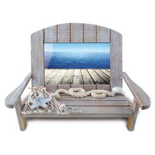Nautical Decor Brown Chair Frame