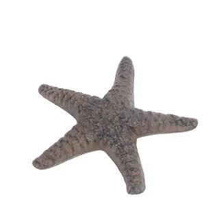 Privilege International Rust Brown Metal Starfish
