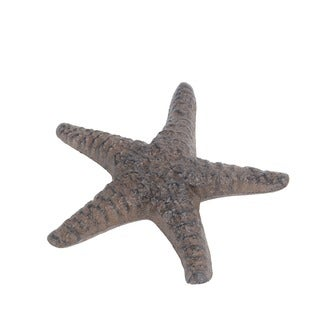 Privilege International Rust Brown Metal Starfish