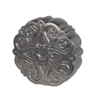 Privilege Pewter Flower-pattern Ceramic Small Figurine