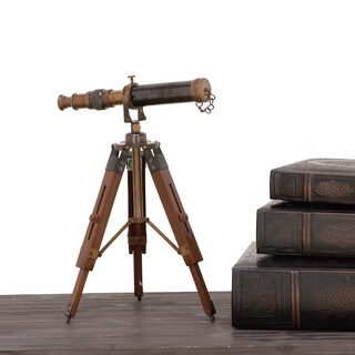 Urban Designs Davy Brass Wooden Tabletop Telescope|https://ak1.ostkcdn.com/images/products/12508587/P19316158.jpg?_ostk_perf_=percv&impolicy=medium
