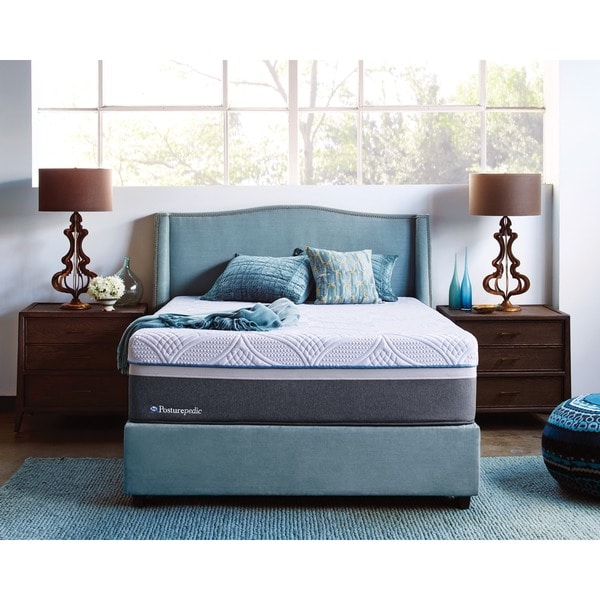 Sealy Posturepedic Hybrid Copper Cushion Firm Queen Size Mattress Set