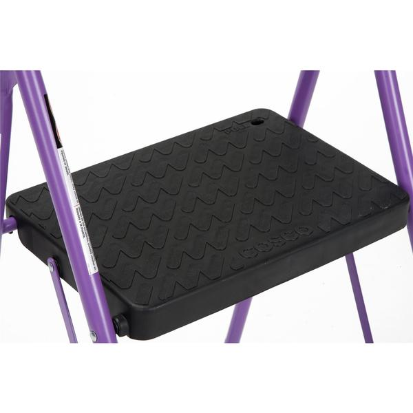 COSCO Two Step Big Step Folding Step Stool with Rubber Hand Grip - Free Shipping On Orders Over $45 - Overstock.com - 19316178  sc 1 st  Overstock.com & COSCO Two Step Big Step Folding Step Stool with Rubber Hand Grip ... islam-shia.org