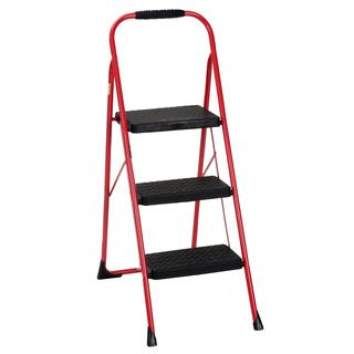COSCO Three Step Big Step Folding Step Stool with Rubber Hand Grip|https://ak1.ostkcdn.com/images/products/12508631/P19316180.jpg?impolicy=medium