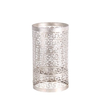 Privilege International Silver Iron Large Candle Holder