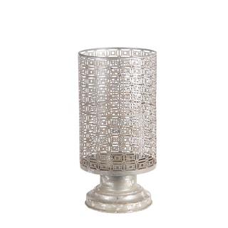 Privilege Silver Iron Medium-size Candle Holder