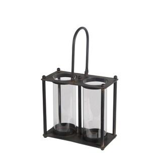 Privilege International Black Iron Double Lantern